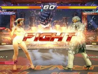 TEKKEN 7 - Eliza unclad Mod (Ranked Match)
