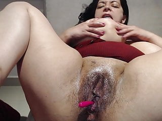 #1 plumper mature with meaty stringing up mammaries and fat moist beaver