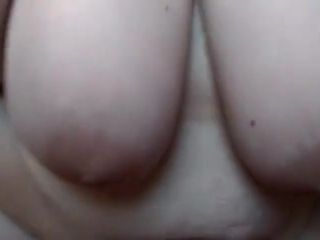 Huge-titted Mature wifey polishes on Her Husband's boner