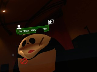 Qwonk (famous VRChat player) quenches hunger with trap pleasure gel