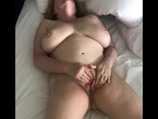 Horny nude wifey fumbles Her cootchie to ejaculation - crazy Homemade