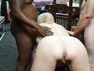 Cougar wifey torn up By 2 Strangers In have fun dungeon space