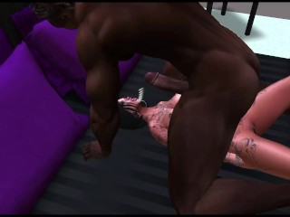 2nd Life pornography starlets - NUUR