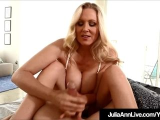 Step mommy Julia Ann Wakes Up Step son-in-law With hand job!