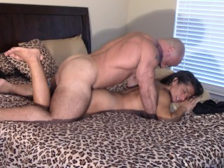 Pawed, torn up and vulva Creamed by stepbro (taboo creampie)