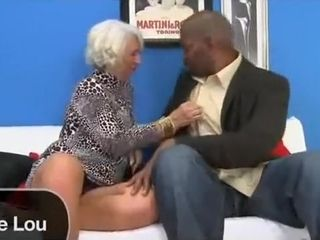 Hot Granny coupled with BBC