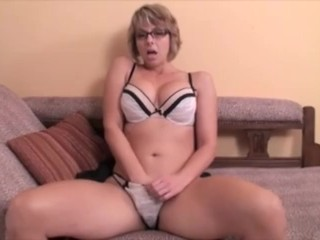 Point of view step-mom Jerk Off Instructions