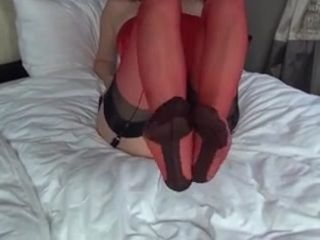 red nylons