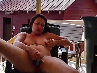 mom masturbates and suck cock