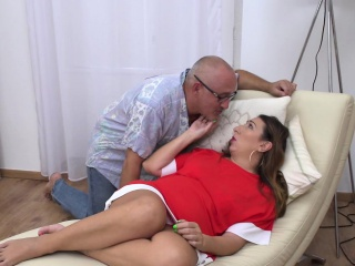 Chubby hairy mature likes to fuck