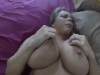 Stepmother creampied while at couch