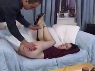 Wifes cunt gets puffy with the addition of grungy presently hobo spanked.