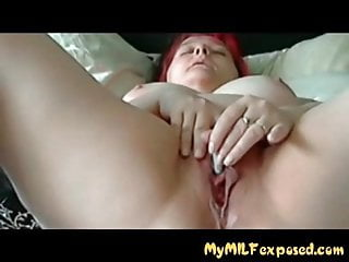 My cougar Exoised Thik wifey in stocking frolicking with fuckbox