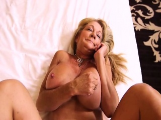 Heavy knockers non-professional granny enjoys indestructible anal POV